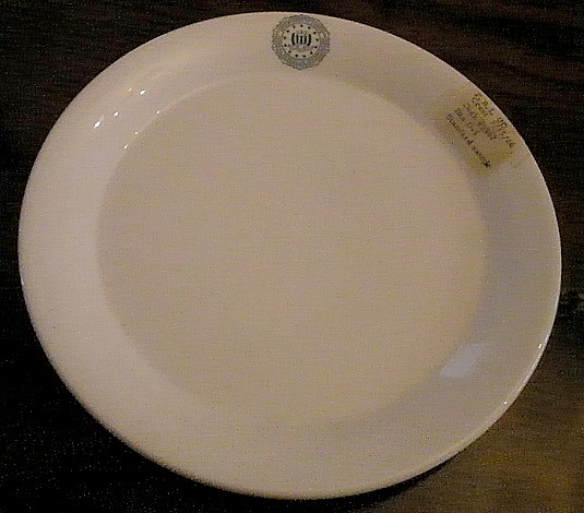 fbi dinner plate s&le 5-15-86 & Miscellaneous Eclectic and Uncategorized Antique or Vintage ...
