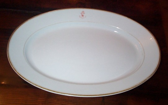 Naval Antique Platters Navy Vintage Serving Plates And