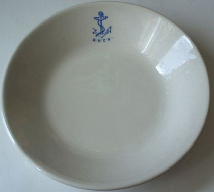 royal new zealand navy officeru0027s wardroom bowl ... & New Zealand Navy or Royal New Zealand Navy RNZN Dinnerware and Tableware