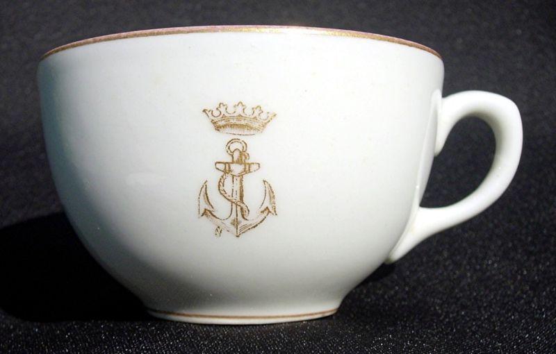 ... spanish navy armada de espana officer\u0027s wardroom china insiginia crown and anchor & Spanish Navy or Armada de Espana of Spain Dinnerware and Tableware