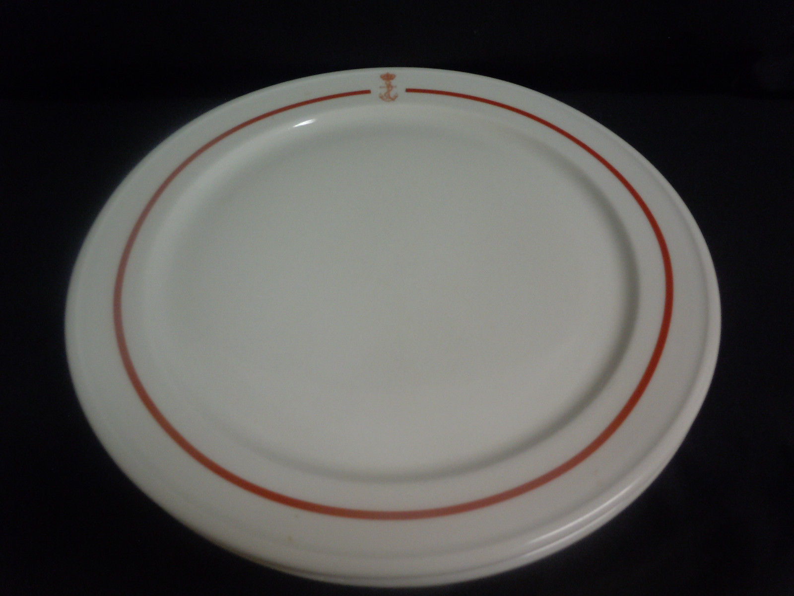 spanish navy dinner plate showing crown and fouled anchor ... & Spanish Navy or Armada de Espana of Spain Dinnerware and Tableware
