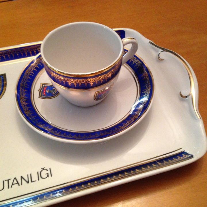 Turkish Navy Or Ottoman Empire Dinnerware And Tableware