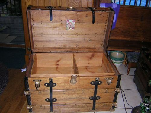 Pirate Treasure Chests 6 Open View Pirates Showing Tray